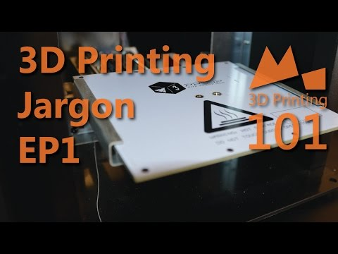 3D Printing 101 - Jargon Busting! - 2015
