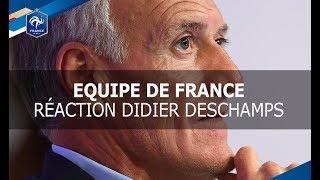 Equipe de France : Didier Deschamps avant le tirage au sort du Mondial 2018, interview I FFF 2017