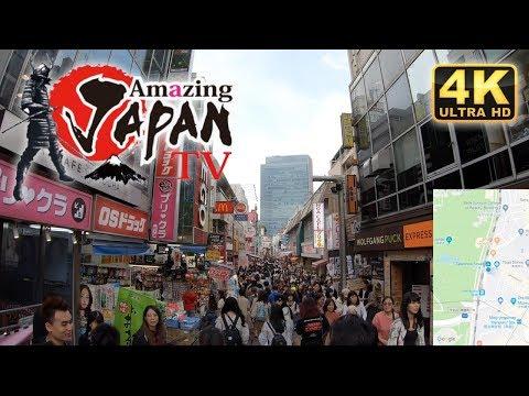 ⁴ᴷ 🔴東京 - 原宿駅 【山手線1周チャレンジ】 駅散歩 / Tokyo Harajuku Station Walk [13/29] - 4K