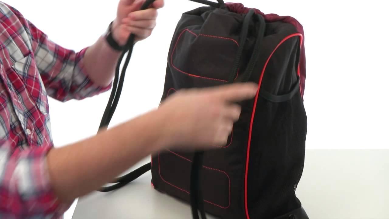 adidas Strength Sackpack SKU 8325136 - YouTube 3478d6b6e6205