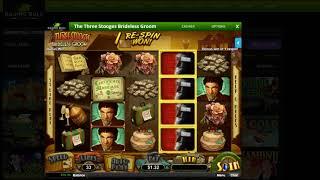 Raging Bull Casino $75 No Deposit Bonus and The Three Stooges :)