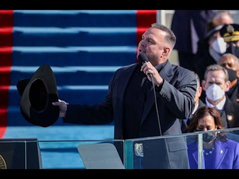 "Garth Brooks Sings ""Amazing Grace""   Joe Biden Presidential Inauguration"