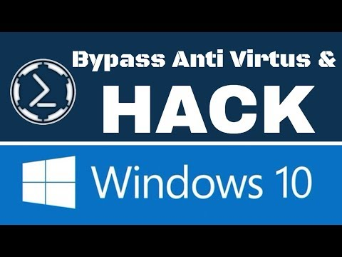 Bypassing Anti-Virtus & Hacking Windows 10 Using Empire