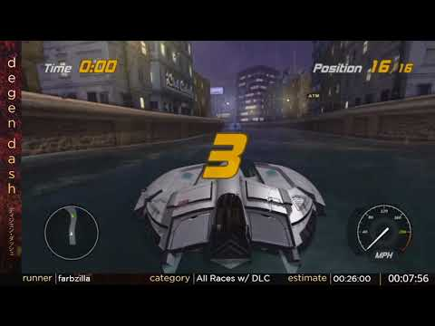 Hydro Thunder Hurricane All Races w/ DLC by farbzilla - Degen Dash II