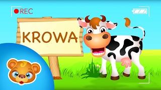 Zwierzęta na farmie - odgłosy zwierząt
