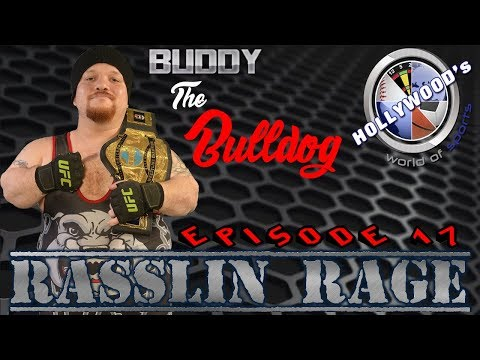 "Rasslin Rage Episode 17- Live interview with BWCW Micro Champion Buddy ""The Bulldog"" and more!"