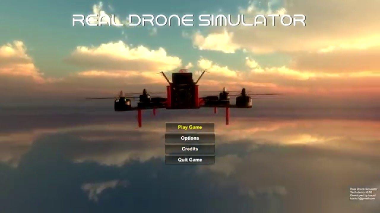 Real Drone Simulator - Gameplay video