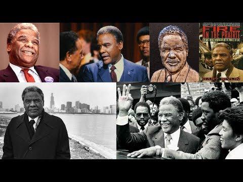 Mayor Harold Washington - Chicago's 41st Mayor