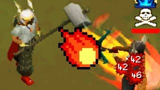 I AM A PKING GOD (Fire Surge Spell at 109cb)