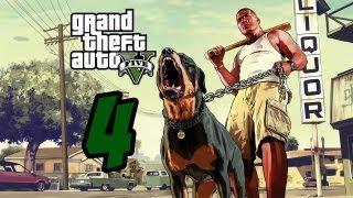 GTA V Gameplay Walkthrough Part 4 - The Race  HD (X360/PS3/PC)