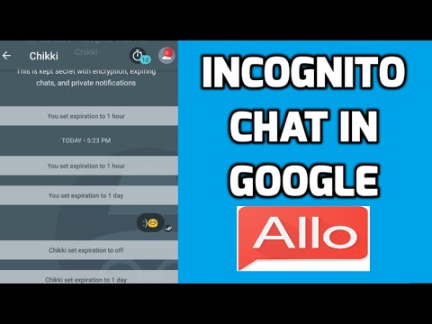 Incognito chat