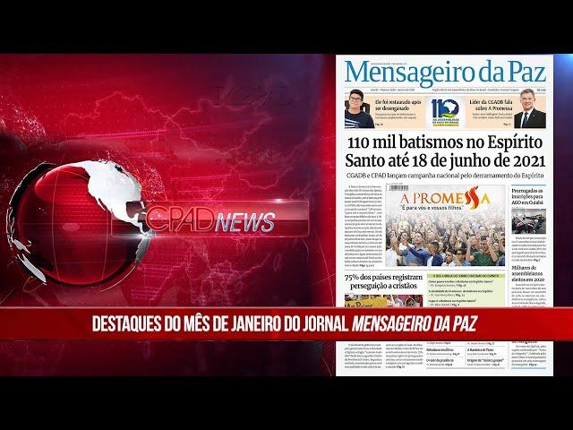 Boletim Semanal de Notícias - CPAD News 195