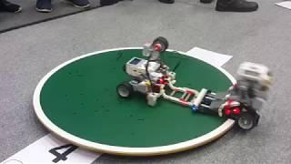 Siguldas robotu kauss 2018. Lego sumo PART 1.