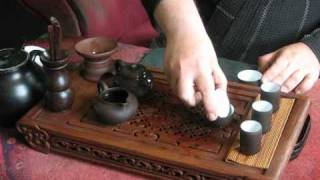 Another tea ceremony: Pu