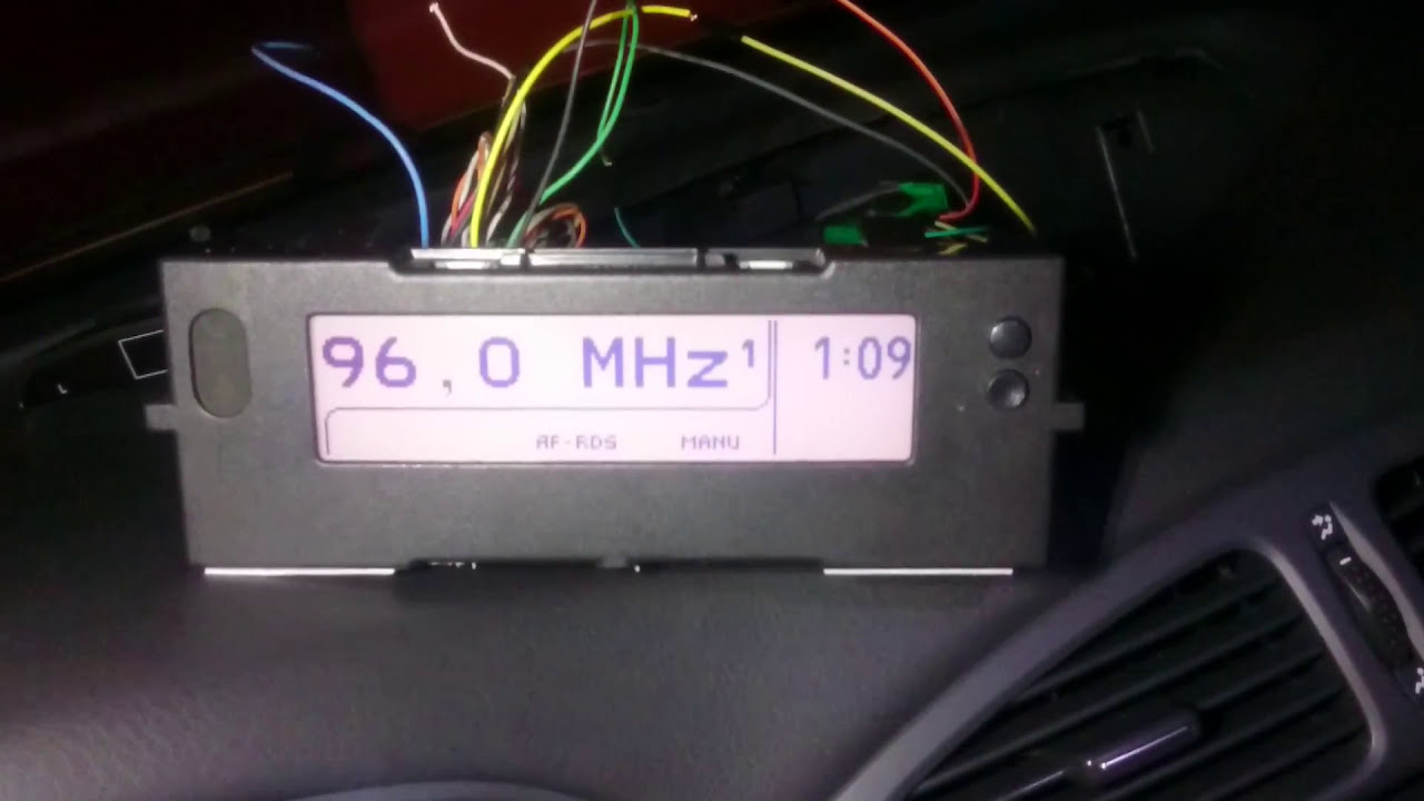 Renault Laguna Ii Phase 1 Radio Display Affa3 Sspp To Affa3 From Phase 2