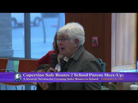 Cupertino Safe Routes 2 School Parent Meet-Up:  February 8, 2017