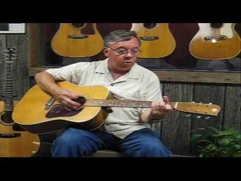 Ole Hoss - Doc Watson's Gallagher in Gallagher Guitar Shop June 16-2010