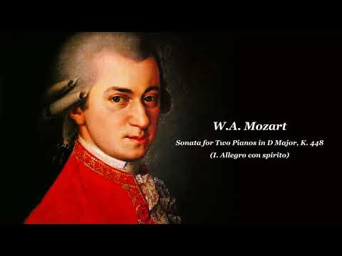W.A. Mozart: Sonata for Two Pianos in D Major, K. 448 - (I. Allegro con spirito)