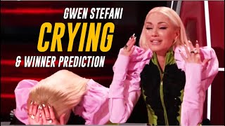 @The Voice  Winner Will Be...? + Gwen Stefani Breaks Down CRYING Like Never Before
