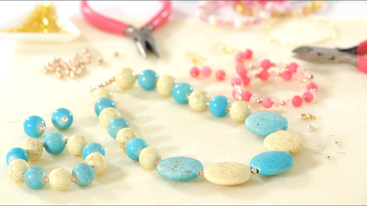 How To Make Jewelry Free Tutorial For Beginners Youtube