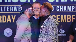HEATED! TONY HARRISON & JERMELL CHARLO COME FACE TO FACE