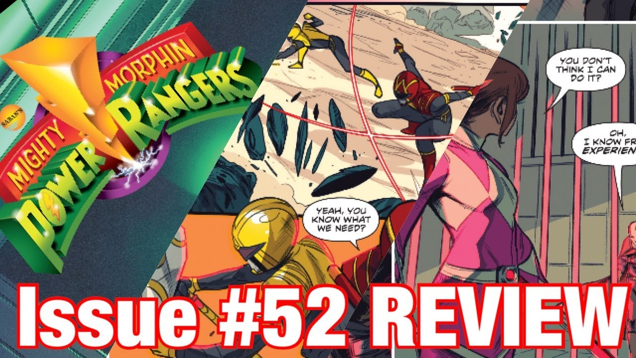 Mighty Morphin Power Rangers: Issue #52 REVIEW