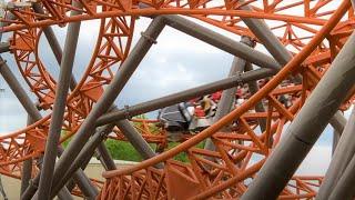 Copperhead Strike | Carowinds | Off Ride and Queue Area