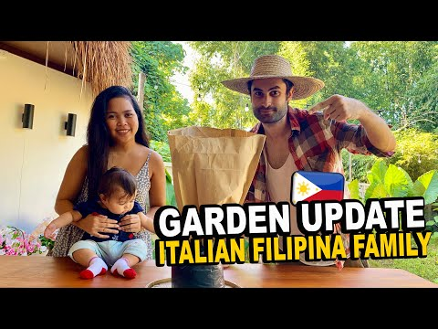 OUR GARDEN MAKEOVER IN OUR JUNGLE HOUSE IN THE PHILIPPINES! PLANTS REVEAL