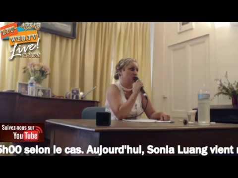 Conférence médiumnique Sonia Luang 08-07-2017 arsab de Lyon