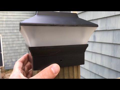 Solar Deck Light Review (Awesome Amazon Buy)