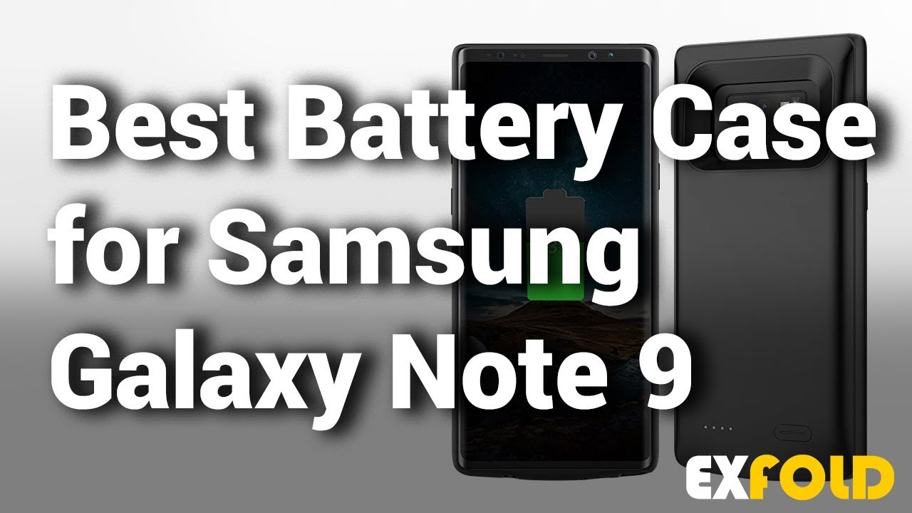 wholesale dealer 46cd6 8406e 11 Best Battery Case For Samsung Galaxy Note 9 2018 With Price