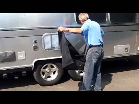 Windshield Sun Shade >> AIRSTREAM PRODUCT VIDEO WINDOW AND TIRE SHADES.mp4 - YouTube