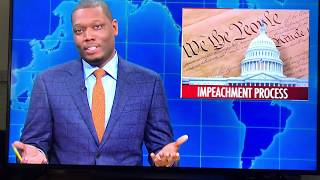 Did Micheal Che just threaten the president on SNL?