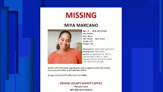 UPDATE: Person of interest in woman's disappearance found dead, Orange County sheriff says