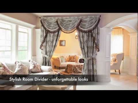 Elegant Designer Curtain Sets (Swags and Tails Valance) by Celuce