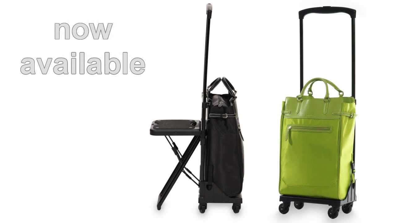 Fortuno Seat, Lightweight Carry On Rolling Tote, Now Available ...