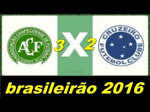 Chapecoense 3 x 2 Cruzeiro Melhores Momentos   Brasileirão 2016
