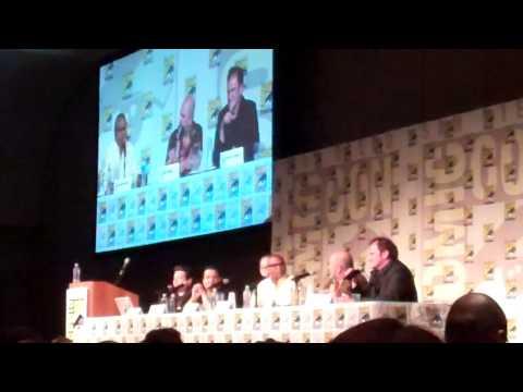 SDCC 2014 Quentin Tarantino Django / Zorro Panel