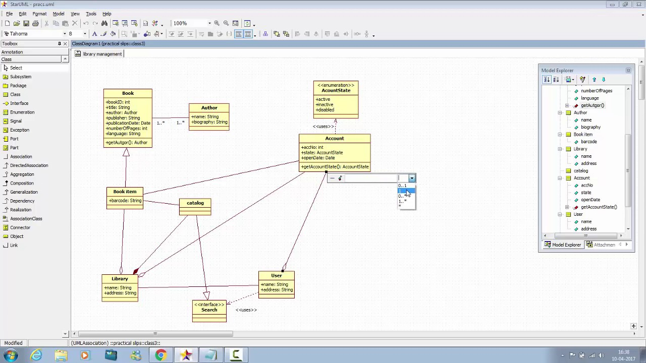 Tutorial 3 library management class diagram youtube tutorial 3 library management class diagram pooptronica