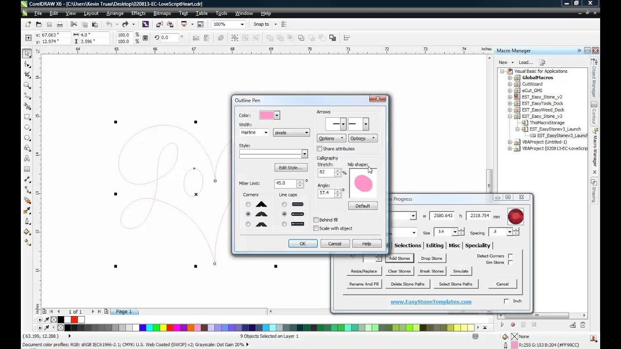 CorelDRAW Tip - Changing Outline Properties