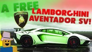 Vehicle Simulator   We Got The LAMBORGHINI AVENTADOR SV and Raced It!!!!!