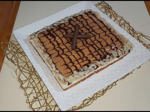 torta-al-caramello-♥️se-scioglie-in-bocca-senza-cottura...tarte-au-caramel