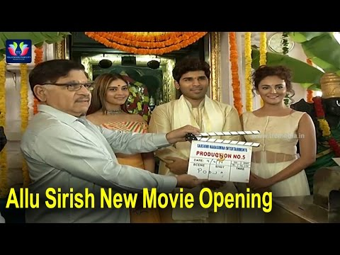 Allu Sirish New Movie Opening | Surabhi | Seerat Kapoor | Srinivas Avasarala | TFC Film News