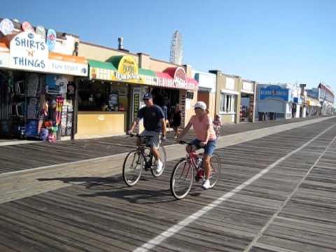 Music Pier to 6th Street Boardwalk  OCNJ  Day after Hurricane Irene