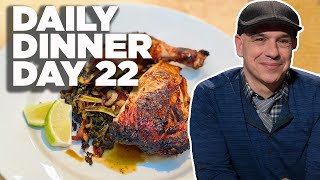 Cook Along with Michael Symon | Grilled Maple Chicken with Smokey Greens | Daily Dinner Day 22