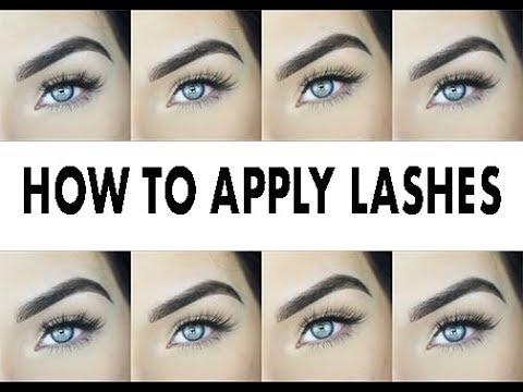 536023fa1ad HOW TO APPLY FAKE EYELASHES | i·ENVY by KISS - YouTube