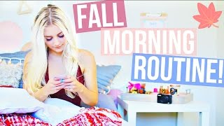 Fall Morning Routine 2015! | Aspyn Ovard