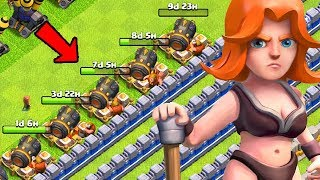 ALL 5 BUILDERS is EXHAUSTING!  TH12 Farm to Max | Clash of Clans