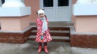 ✩ Настя йде перший раз в ШКОЛУ Nastya is the first time in SCHOOL ✩