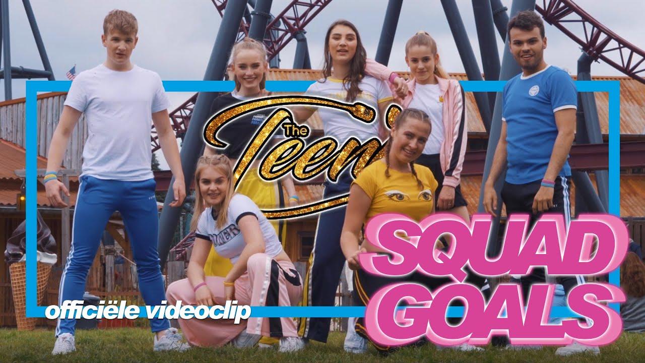 The TeenZ - Squadgoals (officiële videoclip)